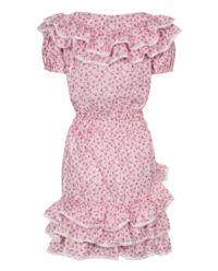 Sukienka z falbanami Praline