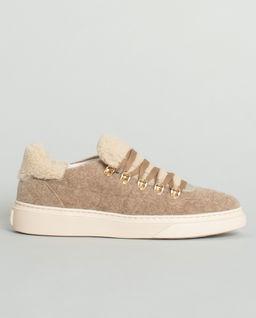 Skórzane Sneakersy H356