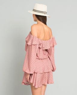 Sukienka hiszpanka z jedwabiem Fiori