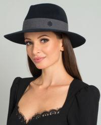 Czarny kapelusz Rico