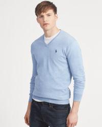 Bawełniany sweter Slim Fit