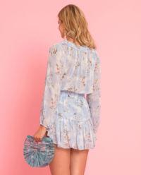 Jedwabna sukienka Popover