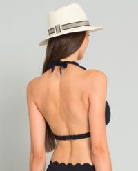 Czarny top od bikini
