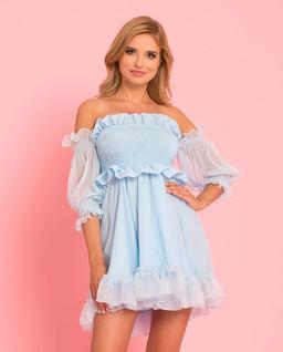 Sukienka z jedwabiu Rosalia