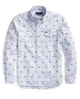 Koszula w paski Custom Fit