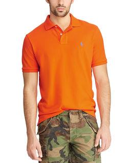 Pomarańczowa koszulka Custom Slim Fit