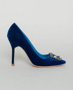 Niebieskie szpilki Hangisi