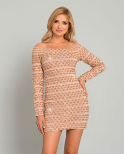 Sukienka Off-The-Shoulder