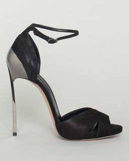 Sandály na jehlovém podpatku Techno Blade
