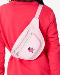 Růžová kabelka kolem pasu Limited