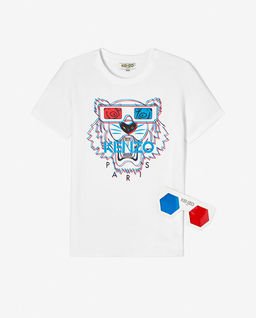 T-shirt Tiger 3D 2-14 lat