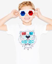 T-shirt Tiger 3D 2-14 lat