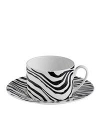 Porcelanowa filiżanka do herbaty Zebrage