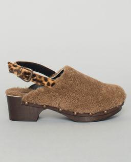 Chodaki z kożuchem Ruka Camel