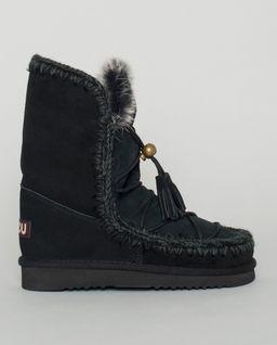 Czarne śniegowce Eskimo Dream