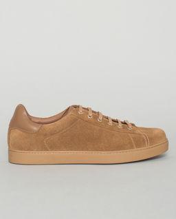 Beżowe sneakersy Low Top