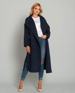 Wełniany płaszcz z kaszmirem