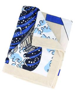 Ręcznik plażowy z logo Wave