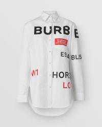 Biała koszula Horseferry