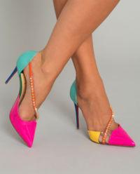 Sandały na szpilce Spike Cross