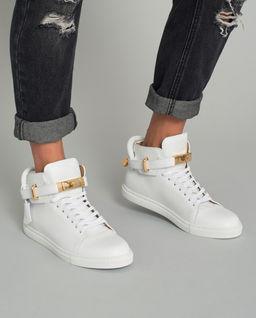 Białe sneakersy 100 MM
