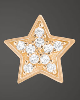 Złote Kolczyki Twin Stars