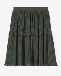 Černá plisovaná sukně