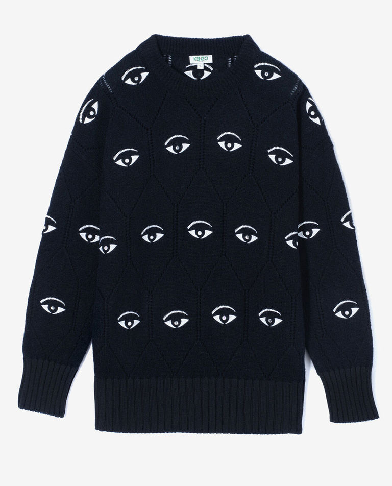 Czarny sweter Multi-Eye