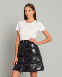 Czarna spódnica mini