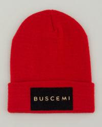 Czerwona czapka beanie