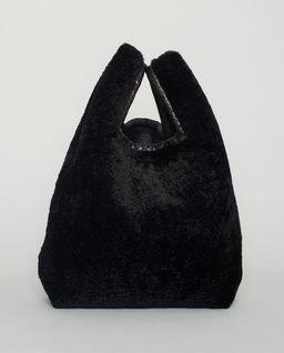 Czarna torebka do ręki
