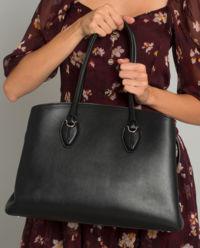 Černá kabelka shopper medium