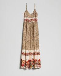 Sukienka ze zwierzęcym printem