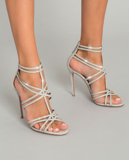 Sandały na szpilce Princess