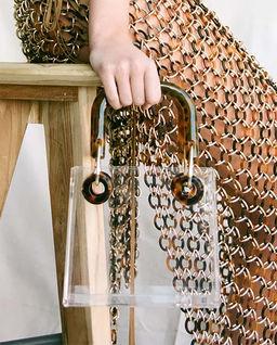 Akrylová kabelka Geneva