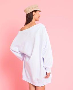 Biała bluza z logowaniem