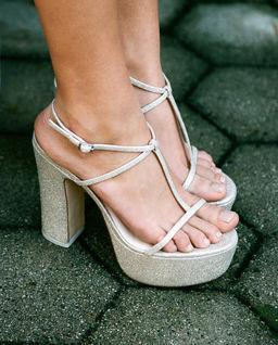 Sandały na platformie Angela