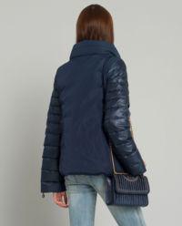 Puchowa pikowana kurtka