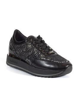 Sneakersy z kryształami