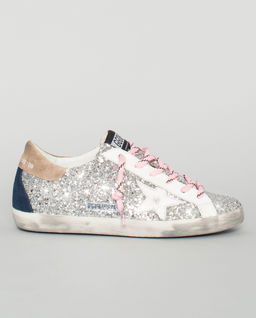 Brokatowe sneakersy Superstar