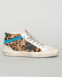 Sneakersy s levhartím vzorem