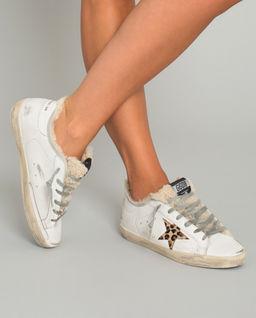 Sneakersy Superstar z ociepleniem