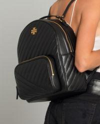 Pikowany plecak z logo