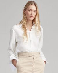 Oversizová, hedvábná košile