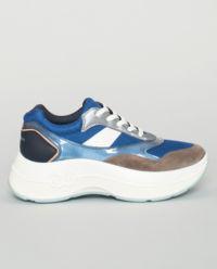 Niebieskie sneakersy