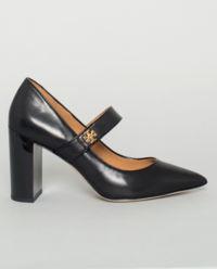 Kožené boty na podpatku