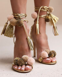 Sandały na szpilce Anna