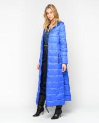 Pikowany płaszcz Vorrei Glossy