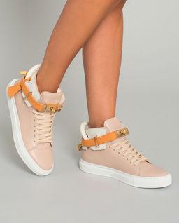 Różowe sneakersy 100MM