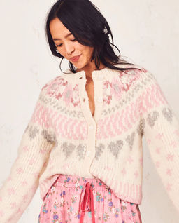 Pastelový, vlněný svetr